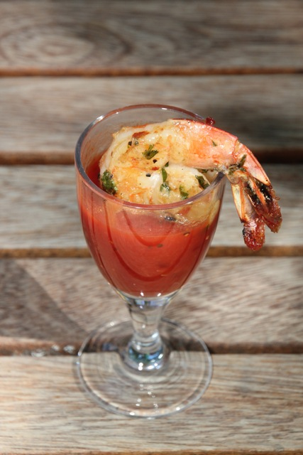 GRILLED SHRIMP COCKTAIL WITH CHIPOTLE ORANGE COCKTAIL SAUCE | Kris ...